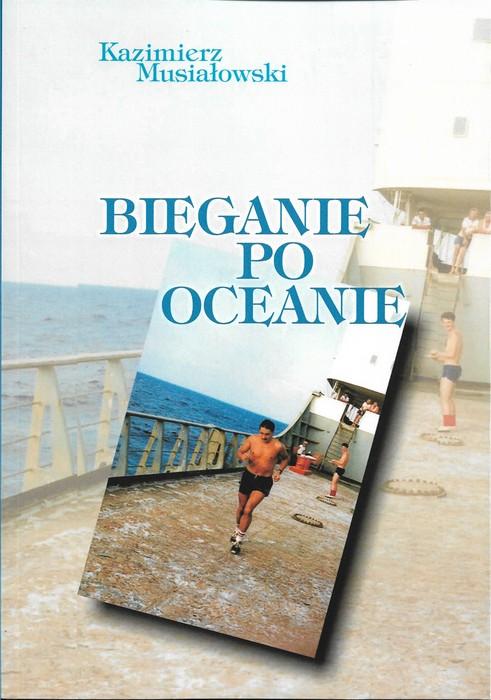 """Okładka książki """"Bieganie po oceanie"""""""